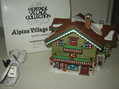 Dept 56 Alpine Village - Sport Laden
