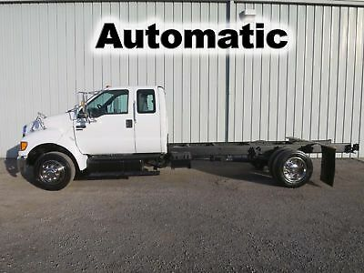 F650 Cummins Diesel Pro Loader Extended Super Cab Chassis Straight Frame Truck