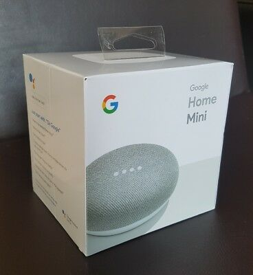 Google Home Mini (Chalk) - FAST POST, BRAND NEW, STILL SEALED IN PACKAGING