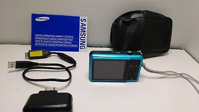 Samsung SL605 Compact Digital Camera 5x Original Box  Blue
