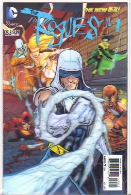 The Flash #23.3 The Rogues #1 3D Lenticular Cover NM (2013) DC Comics