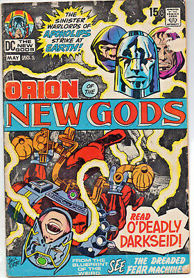 The New Gods #2 (Apr-May 1971, DC) VG (