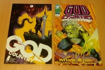 Image - God Country #1 & #2 Variant Covers Bundle Nm 1St Prints Donny Cates