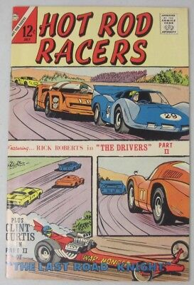 Hot Rod Racers #15 July 1967 Charlton Comics Jack Keller