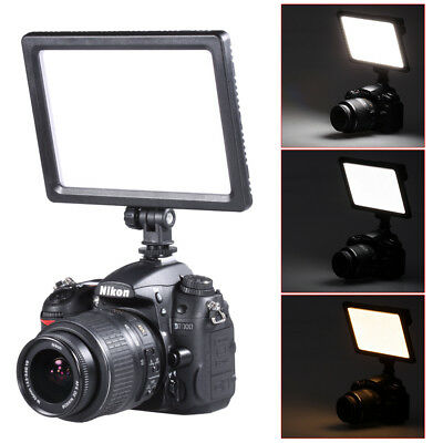 Bestlight Ultra Thin 12W 112 LED Dimmable On-Camera Video Light  for Nikon Canon