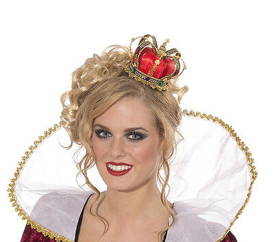 Mini Sexy Queen Crown Hat Princess Royal Adult Halloween Costume Accessories