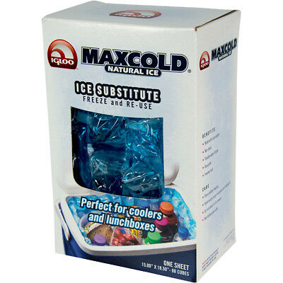 IGLOO MaxCold 88 Cube Natural Ice Sheet - Blue