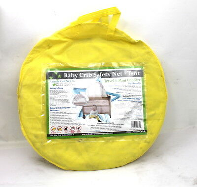 Travel Baby Crib Safety Tent Fits Pack N Play & Mini Cribs Crib Insect Netting
