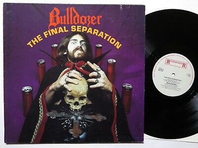 BULLDOZER - The Final Separation - Roadrunner 1986 Mint Vinyl sodom razor venom