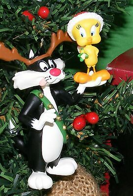 Hallmark Ornament 1993 Sylvester and Tweety Looney Tunes Collection MIP