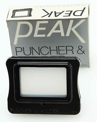 Peak Puncher & Holder  #P2018-PH for 8x Lupe, box, new old stock #361386