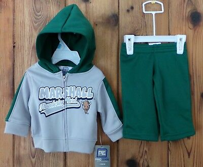 Marshall University Thundering Herd Warm Up suit, Baby Sizes 3 to 9 months