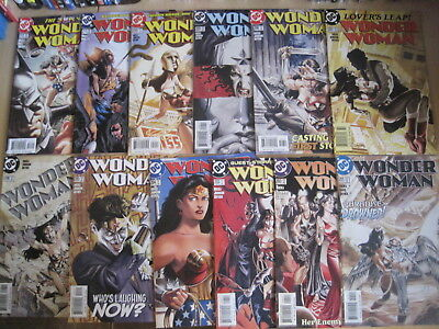 WONDER WOMAN #s 201-226 : COMPLETE FINAL 26 ISSUE SERIES RUN by RUCKA. DC. 2004