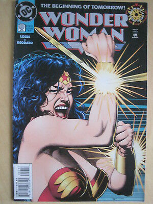 WONDER WOMAN issue 0 ZERO by LOEBS & DEODATO & BOLLAND COVER. 1st PRINT. DC.1994