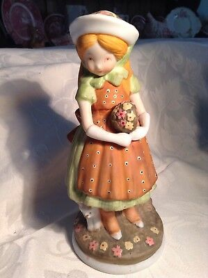 Vintage Holly Hobbie figurine