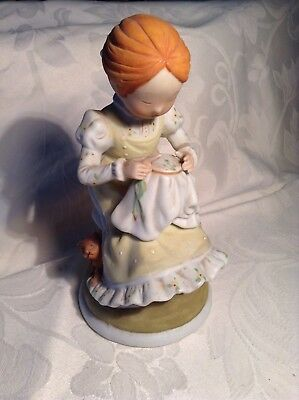 Vintage Holly Hobbie figurine.