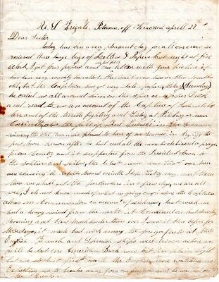 1862, George E.Smith, U.S. Marine, died, Naval Campaigns letter, great content