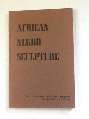 African Negro Sculpture: A Loan Exhibition 1948 exh catalog illustrated