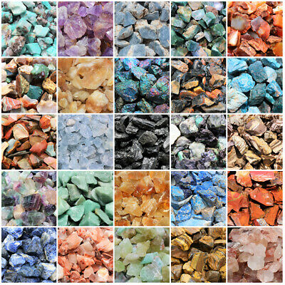 1000 Carat Bulk Lots Natural Rough Crystals Gemstones Specimens: Choose Type