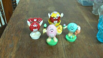 4 Mars M & M Candy Toppers