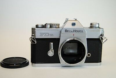Canon Bell & Howell FD 35mm Film Camera Body