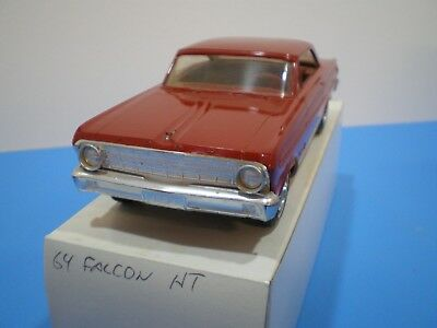 1964 Ford Falcon original Promo in red by AMT very nice