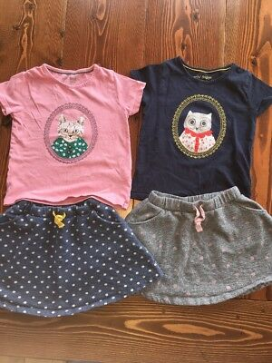 Mini Boden Girls' Lot Size 5-6Y Two Tops, Two Skirts