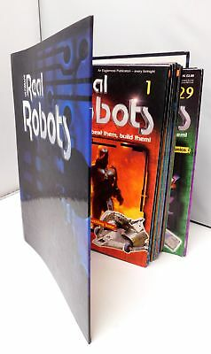 Real Robots Magazines 30+ Issues In Folder - C82
