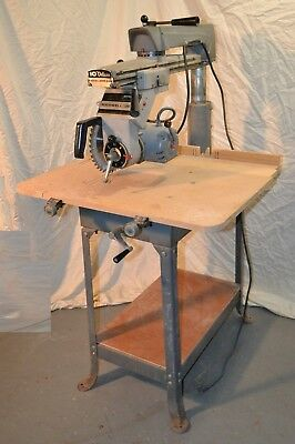 "Delta/Rockwell 33-267 10""  Radial Arm Saw Single Phase * Nice shape * works fine"