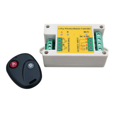 12/24V 10A Positive Inversion Wiireless Remote Control for Linear Actuator Motor