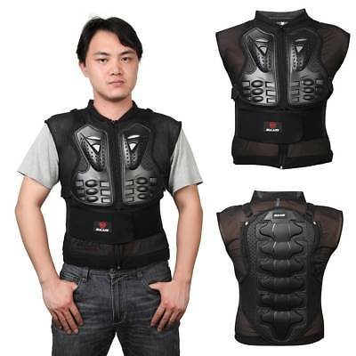 2018 Men's Motorcycle Body Armor Vest Jacket Spine Chest Protection Riding Gear