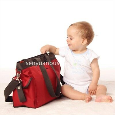 Large Multifunctional Baby Nappy Diaper Bag Oxford Backpack Mummy Changing Bags