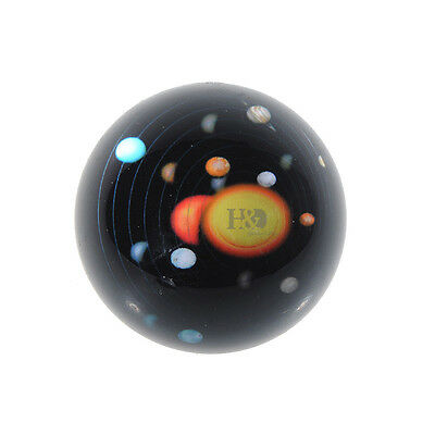 80MM Crystal Ball Solar System Paperweight Half Sphere Ornament Home Decor Gifts
