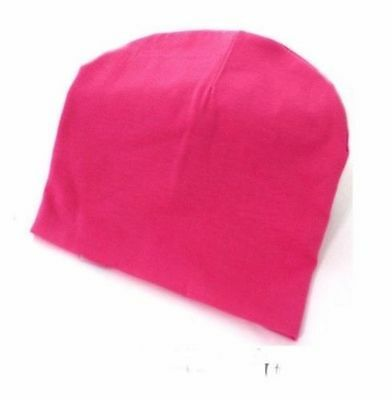 Cotton Beanie Hat New Born Child Baby Boy/Girl Soft Toddler Cap rose red