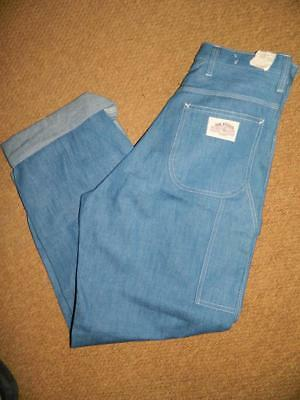 Deadstock Vintage 1970s High Waist Work Jeans by MR LEGGS MERCANTILE CLOTHING
