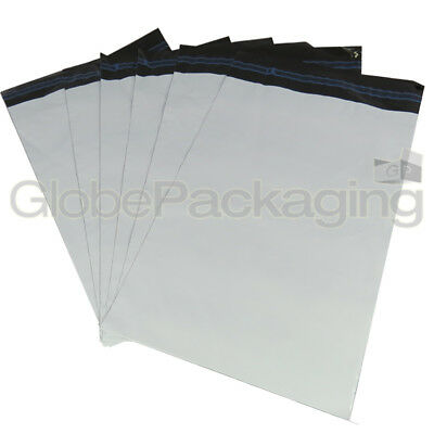 "50 x Strong WHITE 12x16"" Mailing Postal Poly Postage Bags 12""x16"" (300x400mm)"