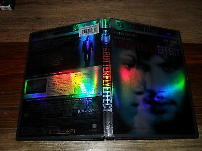 The Butterfly Effect (DVD, 2004, Infinifilm Theatrical Release and Directors Cut