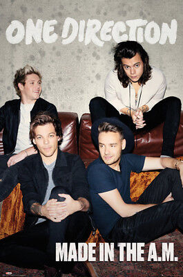 One Direction - Made In The A.M. 1D Musik - Poster Druck - Größe 61x91,5 cm
