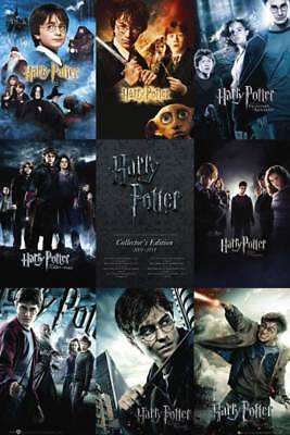 Harry Potter - Collection Mystery Fantasy Filme Kino - Poster Druck 61x91,5 cm