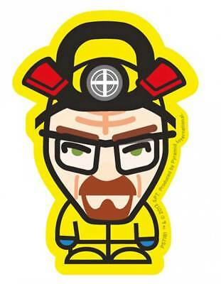 Breaking Bad Fernsehserie Heisenberg Yellow Sticker, Aufkleber