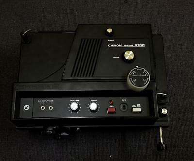 Chinon Sound 6100 Super 8 mm Movie Projector *Used* *Sold As Is*