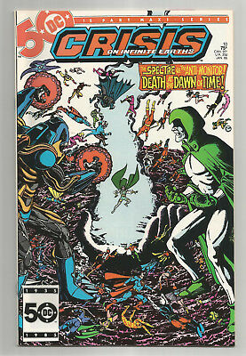 Crisis On Infinite Earths # 10 * Marv Wolfman * George Perez * Jerry Ordway