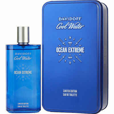 Cool Water Ocean Extreme by Davidoff EDT Spray 6.7 oz Limited Edition Tin