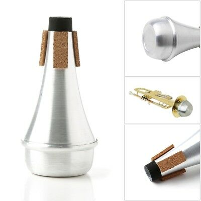 Lightweight Trumpet Mute Straight Practice Cup Silencer Training Accessories