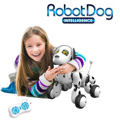 RC Smart Dog Sing Dance Walking Remote Control Robot Dog Electronic Pet Kids Toy