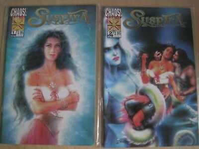 Brian Pulido's : SUSPIRA, ISSUES 1 & 2 of the 1997 CHAOS SERIES