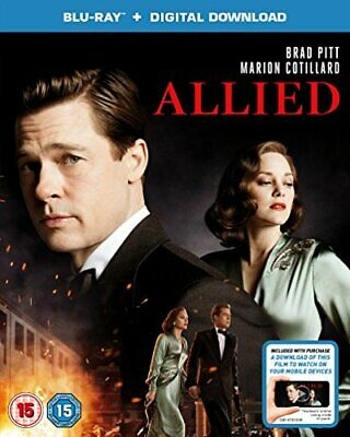 Allied (Blu-ray + Digital Download) [2016] [Region Free] -  CD OZVG The Fast