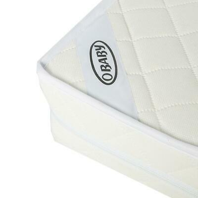 Obaby Cot Mattress - 120x60cm  (SPRUNG) - Fits Most Cots