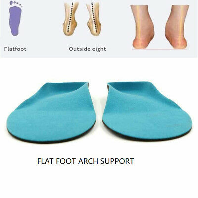 EVA Orthotic Orthopedic Insole Flat Foot Arch Support Health Shoes Pad Cushion