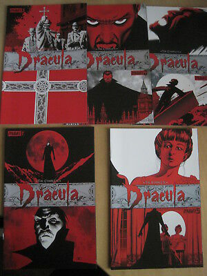 The COMPLETE DRACULA : FULL 5 ISSUE 2009 DYNAMITE SERIES by LEAH MOORE & REPPION